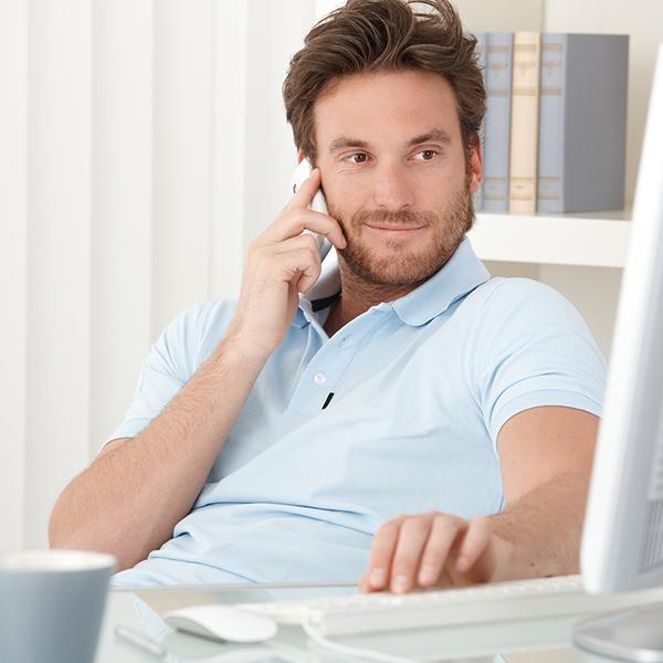 Заявка по телефону или e-mail