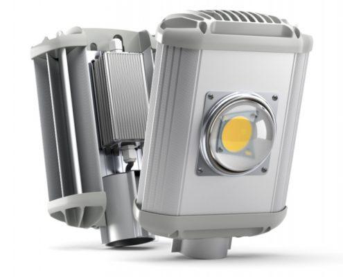 Уличный светильник с линзой Atlant-K HL Optic