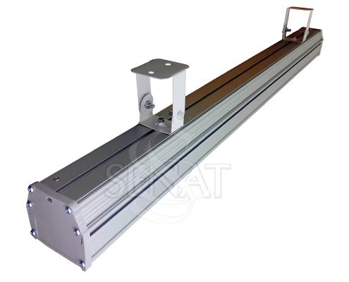 Накладной/подвесной промышленный светильник Ares AL M
