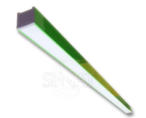 Линейный светильник Hermes зеленый